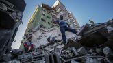 Nueva madrugada de bombardeos israelíes en la Franja de Gaza