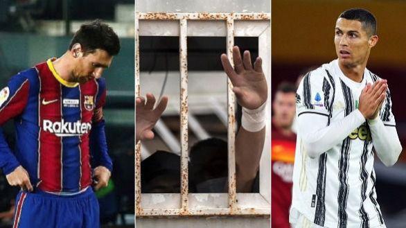 Menores engañados llegan a Ceuta desde Marruecos para ver a Ronaldo y Messi