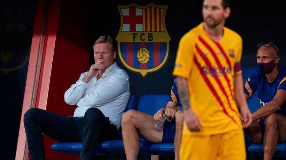 Koeman enfila la salida de Barcelona como en Valencia: atacando a España