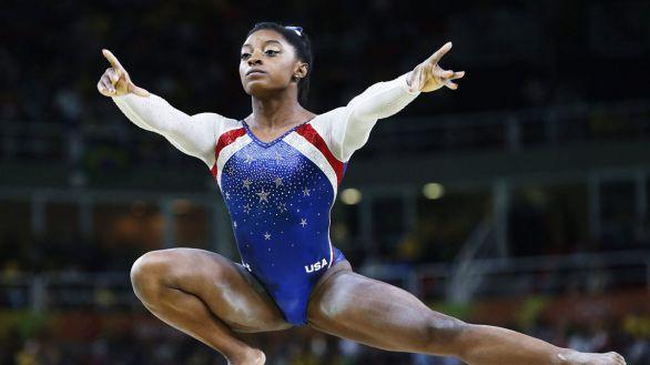 Simone Biles sorprende con este espectacular salto