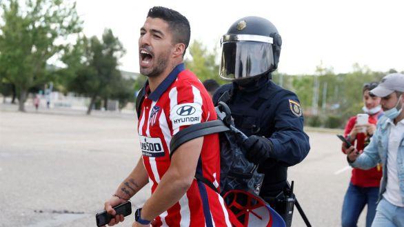 La confesión de Luis Suárez, roto en llanto tras ganar la Liga con el Atlético