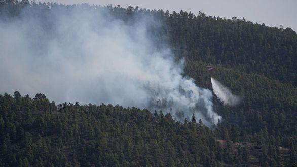 El incendio de Tenerife está estabilizado y se incorporan medios aéreos