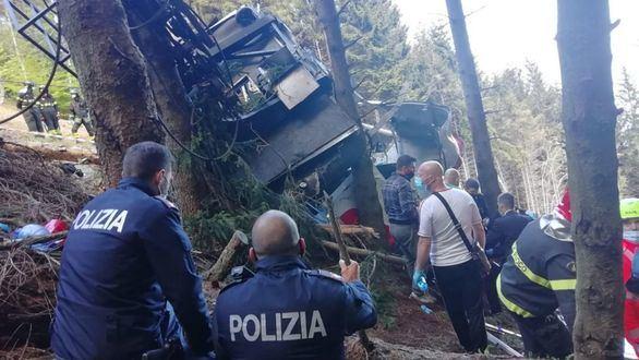 Salen de prisión los tres acusados por el accidente mortal del teleférico en Italia