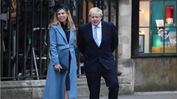 Boris Johnson y su novia Carrie Symonds se casan en Westminster