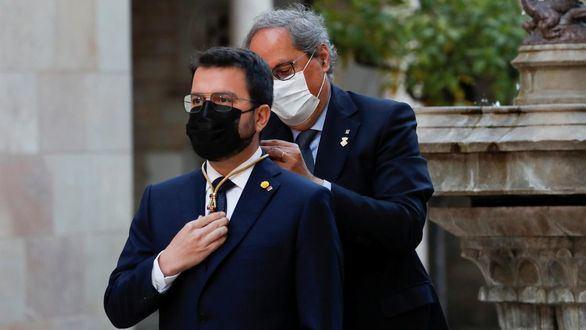 Estos son los 14 consejeros del Govern de Aragonès: Puigneró, Vilagrà, Giró...