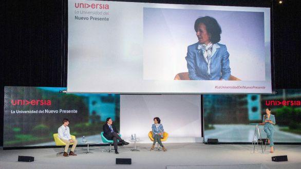 Santander concederá 125.000 becas más de las comprometidas hasta 2021