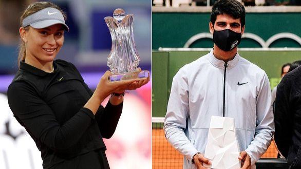 Nueva gesta en la meteórica irrupción en el tenis de los españoles Alcaraz y Badosa