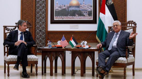 Blinken se reúne con Netanyahu y Abás en su primer viaje a Israel y Palestina