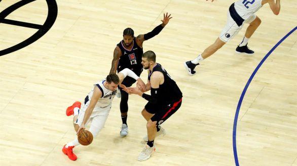 NBA Playoffs. Otra exhibición de Doncic deja a los Clippers sin oxígeno