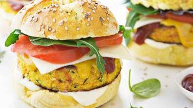 Cuatro recetas para elaborar unas hamburguesas saludables