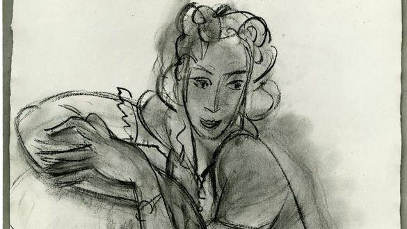 Hallada por casualidad una ilustración de Matisse con un precio estimado de 300.000 euros