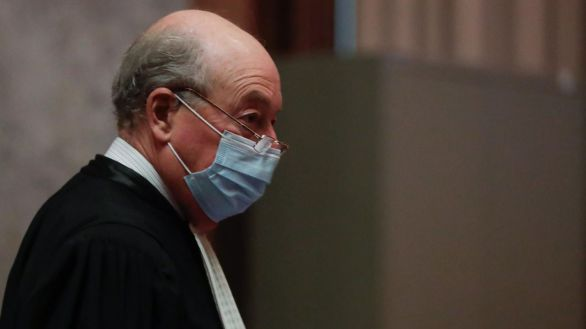El abogado de la Comisión Europea, Paul Alain Foriers, este miércoles en el juzgado de Bruselas.