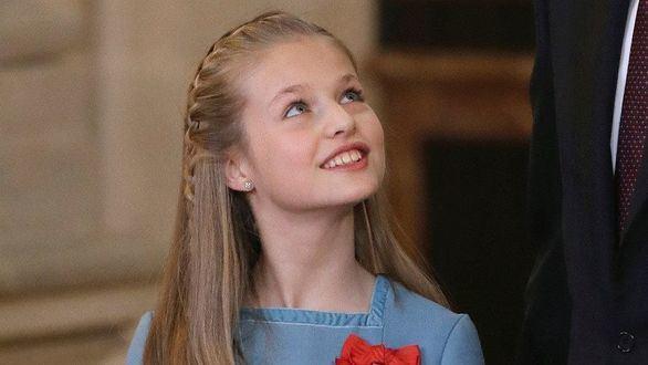 La princesa Leonor se confirma este viernes con sus compañeros de clase
