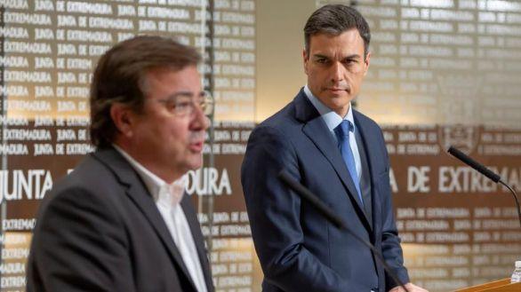 Fernández Vara atiza a Pedro Sánchez por los indultos