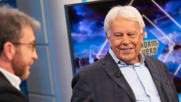 Felipe González en El Hormiguero, lo más visto, y la docuserie de Rocío termina invicta