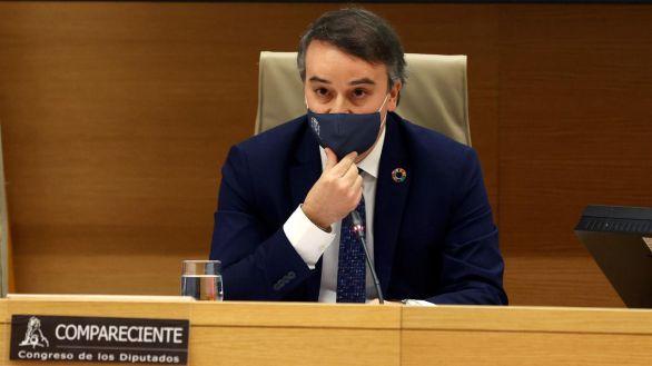 El Director del Gabinete del Presidente del Gobierno, Iván Redondo, este jueves en el Congreso.