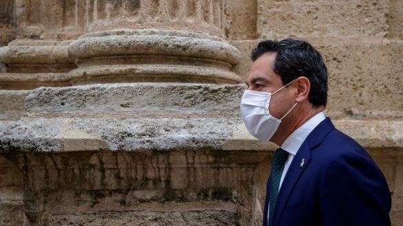 El presidente de la Junta, Juanma Moreno, positivo en coronavirus