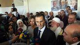 Al Asad, reelegido presidente tras arrasar con el 95% de los votos