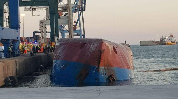 Recuperan el cadáver de uno de los dos desaparecidos en el Puerto de Castellón