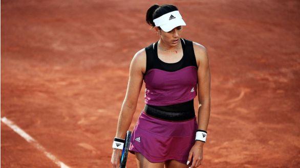 Roland Garros. Muguruza no supera la primera ronda por primera vez