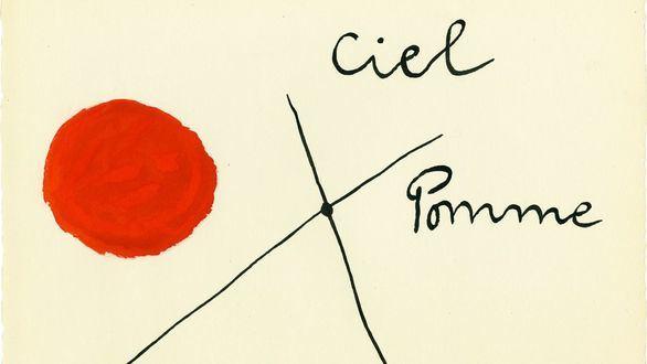 Madrid acoge una exposición sobre el papel que jugó la poesía en la obra de Joan Miró