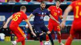 Euro 2020. Benzema vuelve a jugar con Francia y comete un error impropio