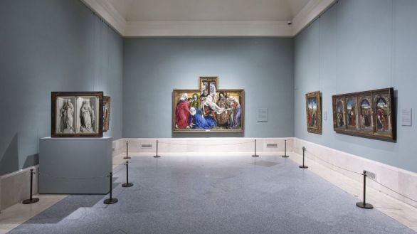 El Prado inicia la vuelta a la normalidad con el regreso de El Descendimiento a su sala