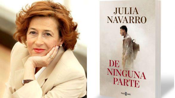 De ninguna parte, la nueva novela de Julia Navarro, ya tiene fecha de lanzamiento