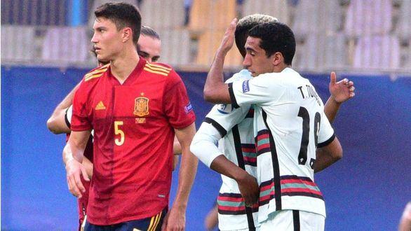 Europeo sub-21. España, sin gol, sin fortuna y sin final |0-1