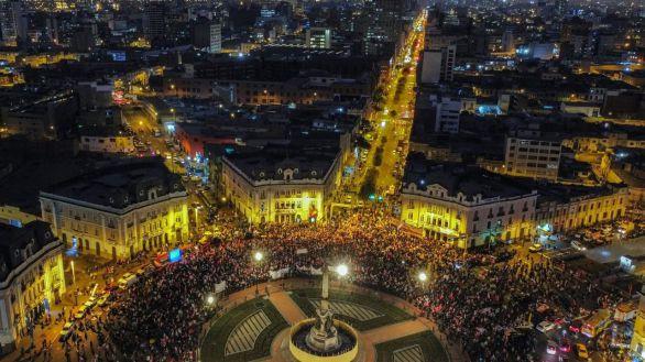 Castillo y Fujimori cierran la campaña más polarizada en décadas en Perú