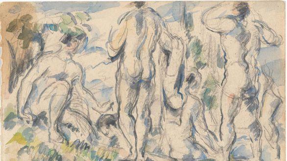 El MoMA explora la desconocida faceta de dibujante de Cézanne