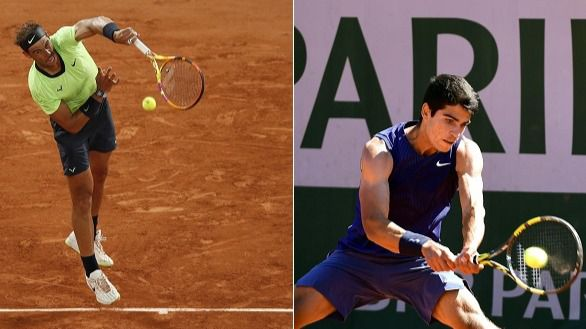 Roland Garros. Nadal habla de su jubilación y Alcaraz, de su primer día de gloria