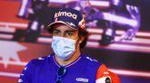 GP Azerbaiyán. Fernando Alonso descubre y destapa el principal problema del Alpine