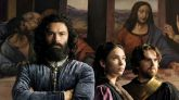 Aidan Turner, Matilda De Angelis y Freddie Highmore en 'Leonardo'.