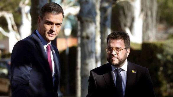 Sánchez se cita con Aragonès para hablar de