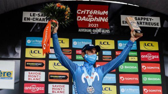 Dauphiné. Alejandro Valverde y Movistar firman un triunfo impresionante
