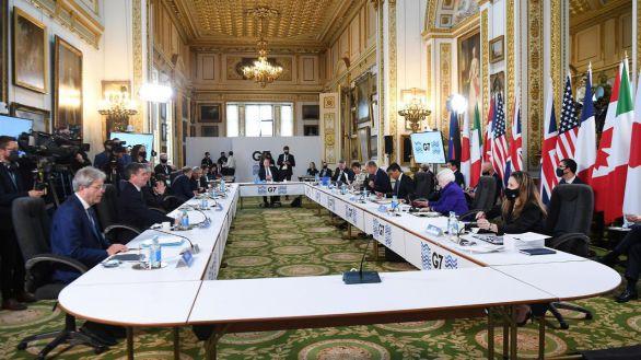 Los países del G7 pactan un nuevo impuesto global a las multinacionales