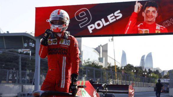 F1. Leclerc saldrá primero después de una accidentada clasificación
