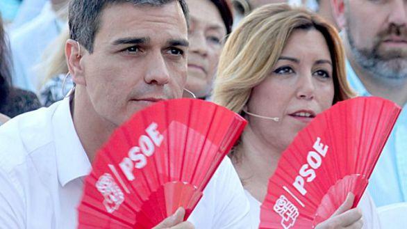 Pedro Sánchez se la juega en las primarias del PSOE andaluz