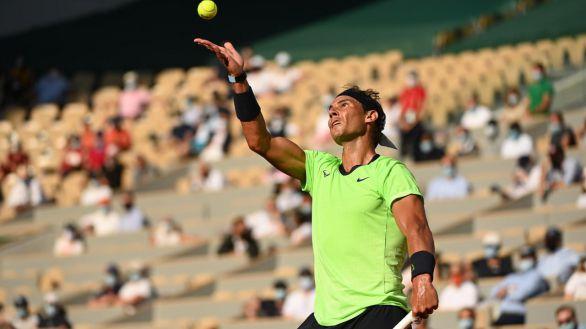 Roland Garros. Nadal no se apiada de Sinner y llega a cuartos por vía rápida