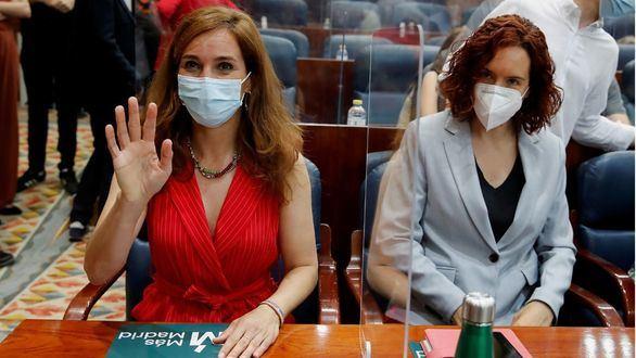 Mónica García ocupa la bancada de líder de la oposición: fotos de la nueva Asamblea