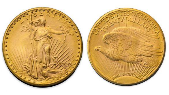 Un 'Águila doble', la Mona Lisa de las monedas, vendida por 18 millones de dólares
