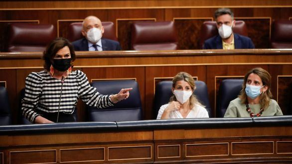 Calvo reprocha al PP la 'foto de Colón' en lugar de aclarar su postura con los indultos