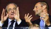 Superliga. Oficial la primera victoria de Real Madrid, Barça y Juve frente a la UEFA