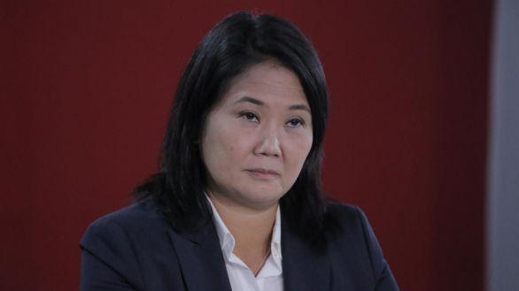 La fiscalía pide presión preventiva para la candidata Keiko Fujimori