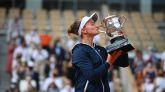 Roland Garros. Krejcikova completa su cuento de hadas y es campeona