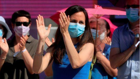 Ione Belarra, nueva líder de Podemos, agradece a Iglesias enseñar que