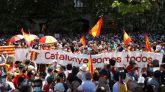 'No al indulto', '¡Dimisión!': las consignas más cantadas este mediodía