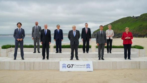 Brexit, vacunas y China, protagonistas tras el cierre de la cumbre del G7