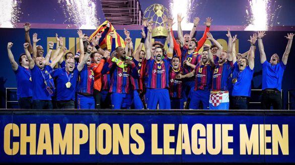Champions League. Paliza y décimo título para el Barcelona   36-23